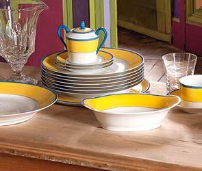 MEK Dinner & Tea Service: Haviland et Parlon / Seignollies